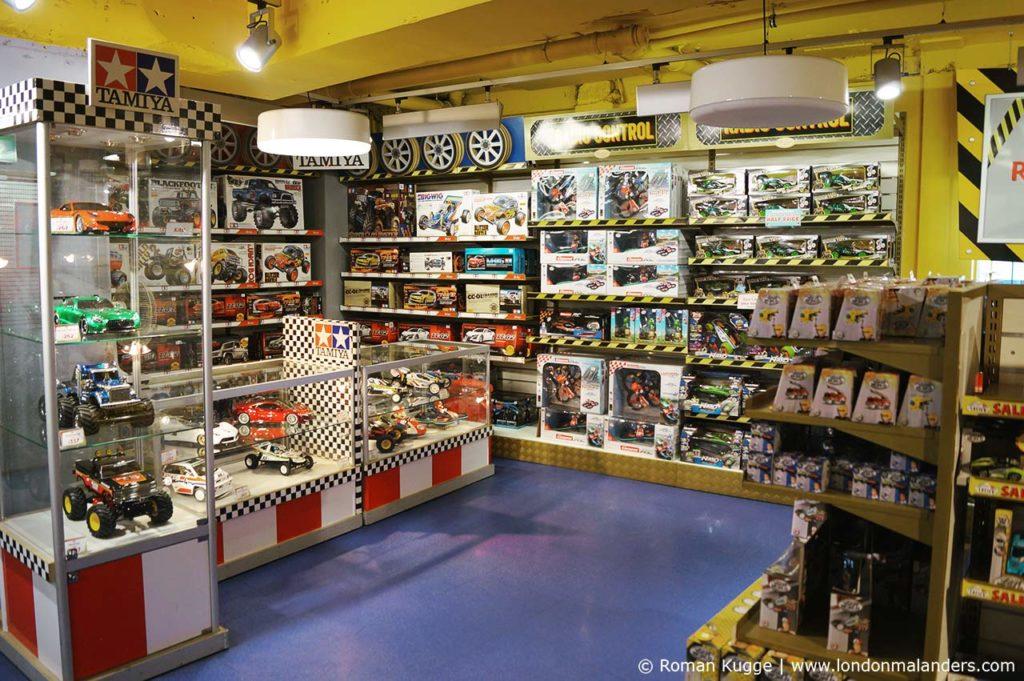 Hamleys London Spielwarengeschäft