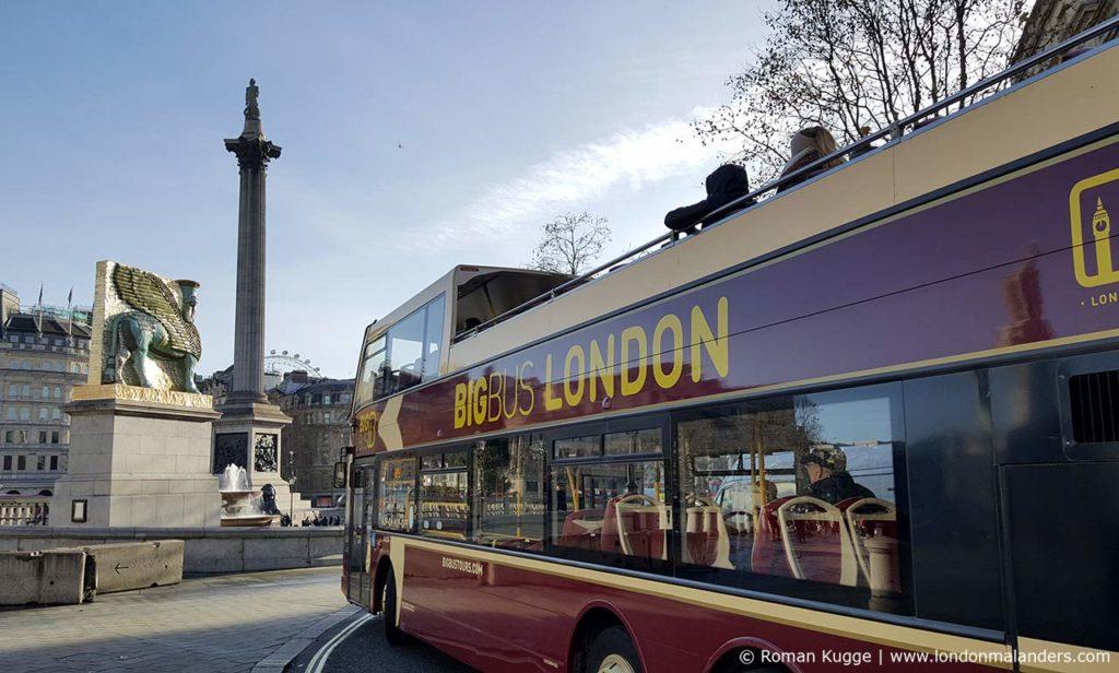 London Bus Hop On Hop Off