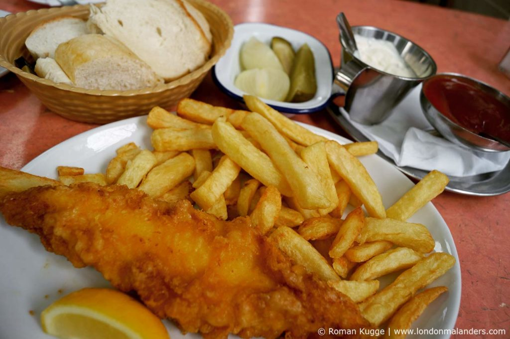 Masters Superfish London Fish and Chips