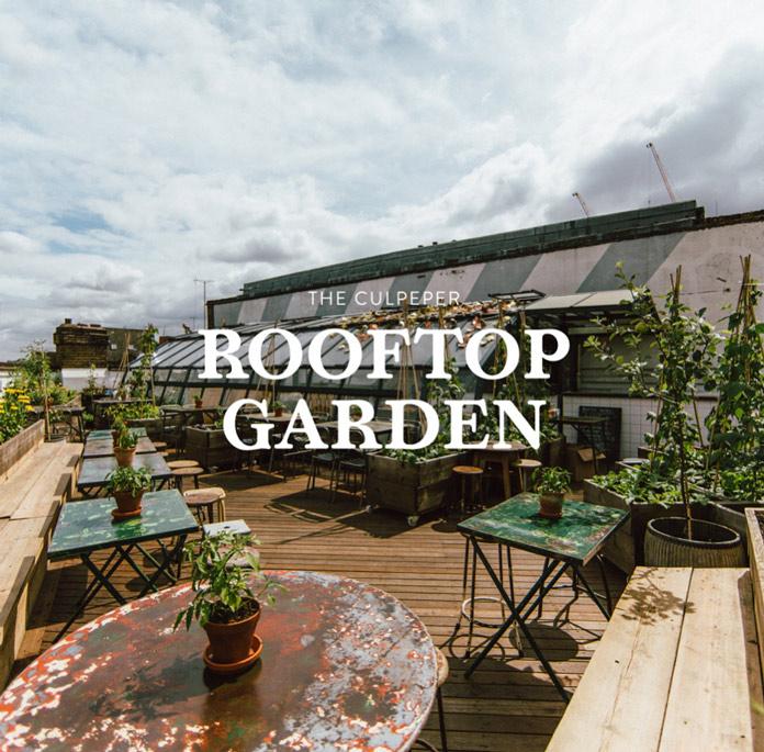 Culpeper Rooftop Garden London