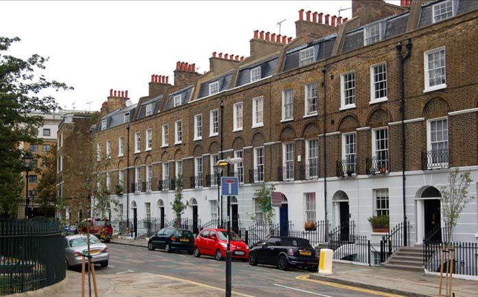 Harry Potter Drehort London Claremont Square
