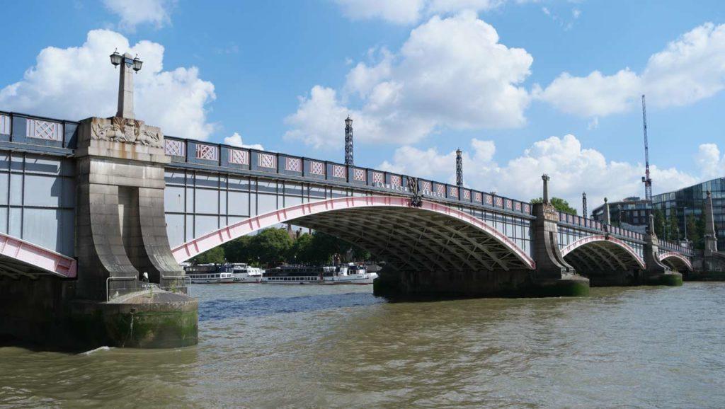 Lambeth Bridge Harry Potter Drehort