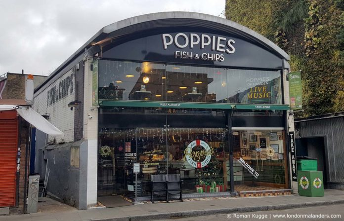 Poppies Fish and Chips London Camden Town
