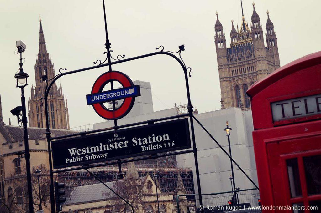 U-Bahn-Station Westminster Station