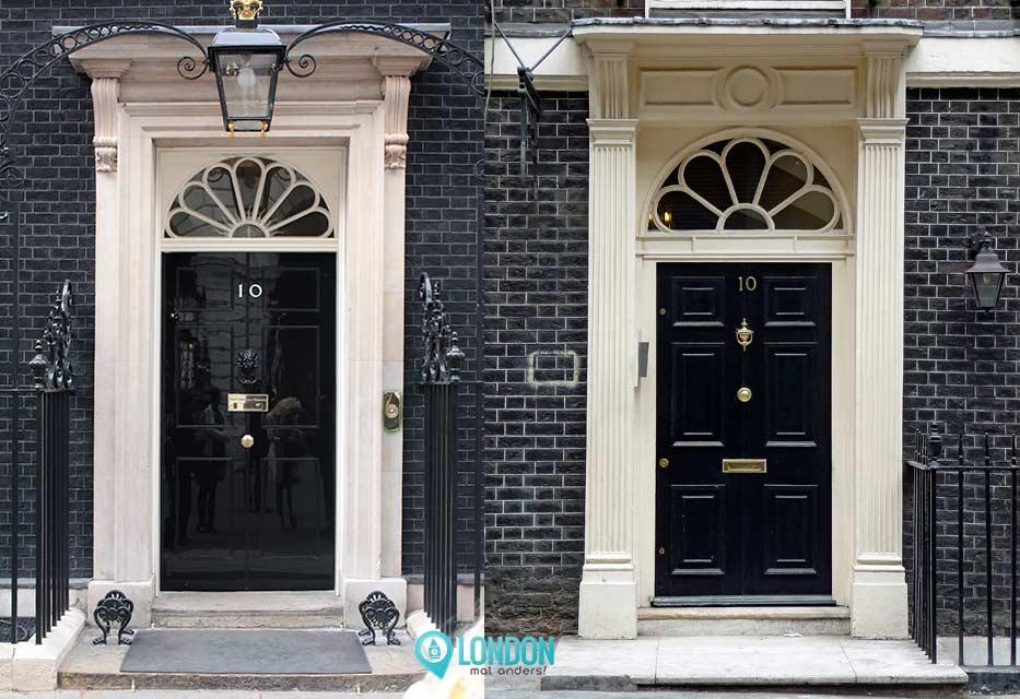 Falsche 10 Downing Street 10 Adam Street Vergleich