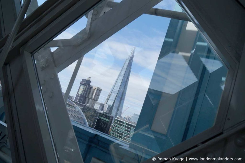 Ausblick Tower Bridge auf The Shard