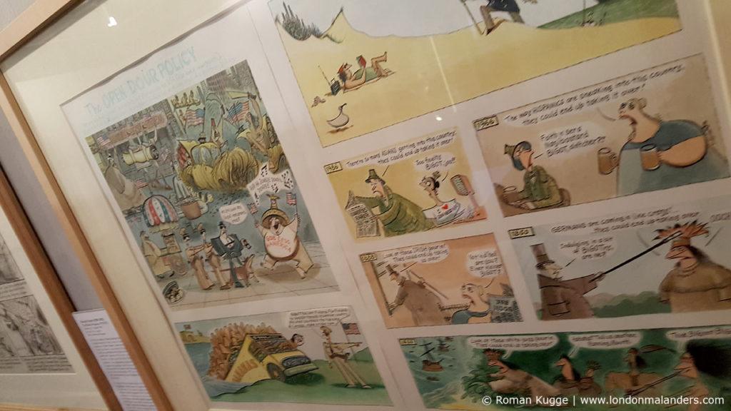 Cartoon Museum das Comic Museum von London