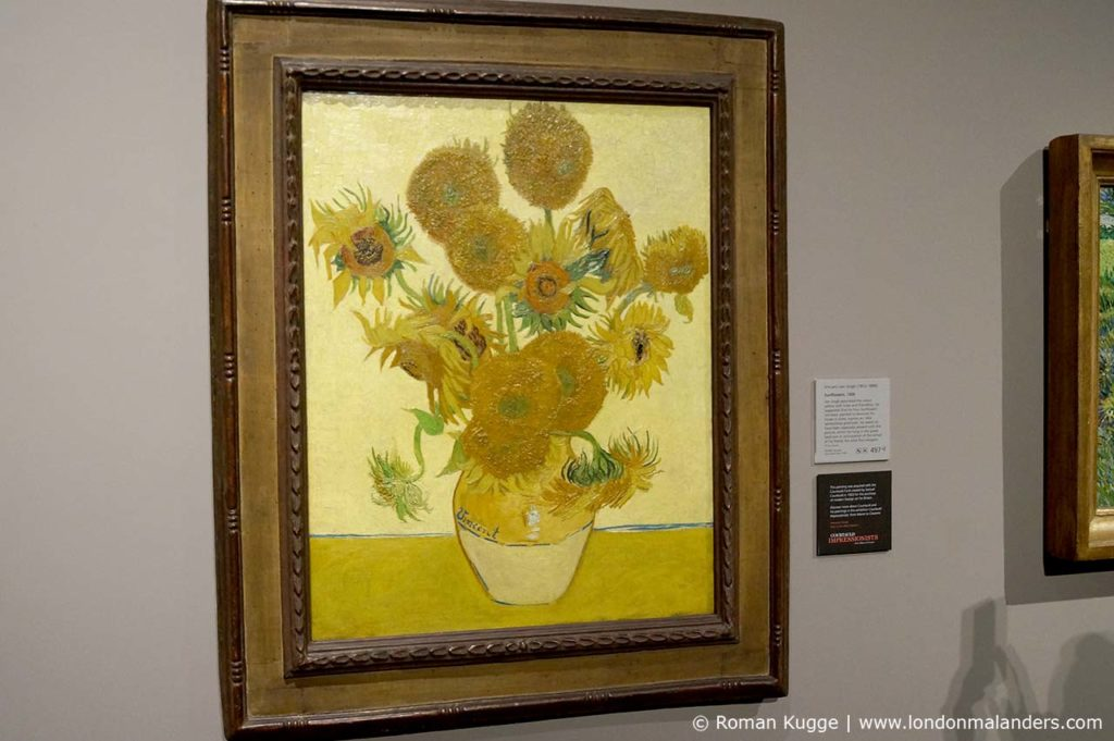 National Gallery London Van Gogh Sonnenblumen