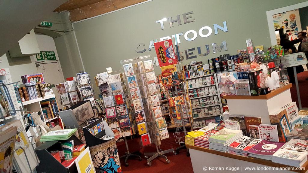 Souvenir Shop Cartoon Museum London