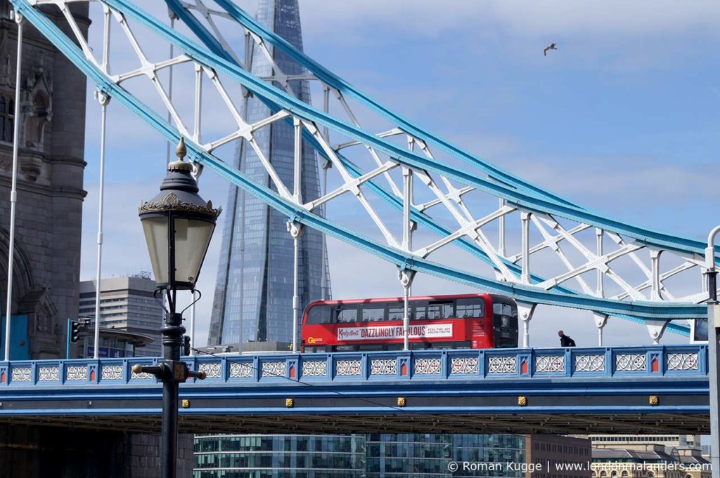 Tower Bridge London The Shard Londoner Bus