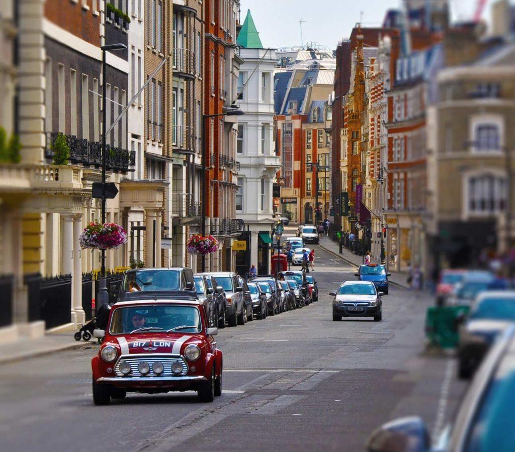 Mini Cooper Stadtrundfahrt London