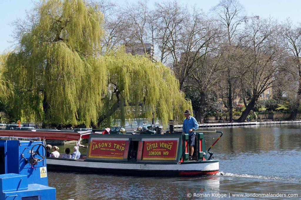 Regent's Canal Bootsfahrt Venice Camden