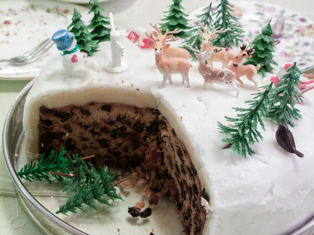 Christmas Cake Englischer Weihnachtskuchen