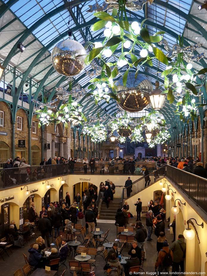 Covent Garden Weihnachten