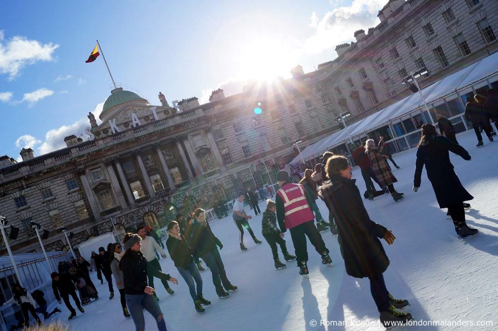 Eislaufen London Somerset House