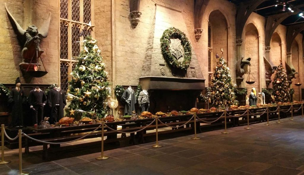 Harry Potter Studios Weihnachten