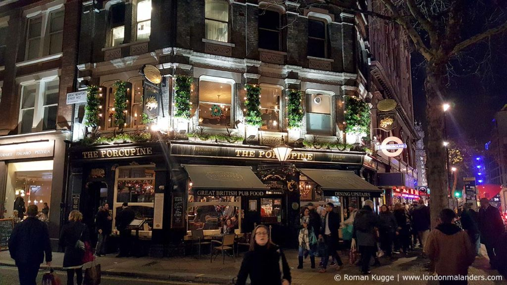 Pub London Weihnachten