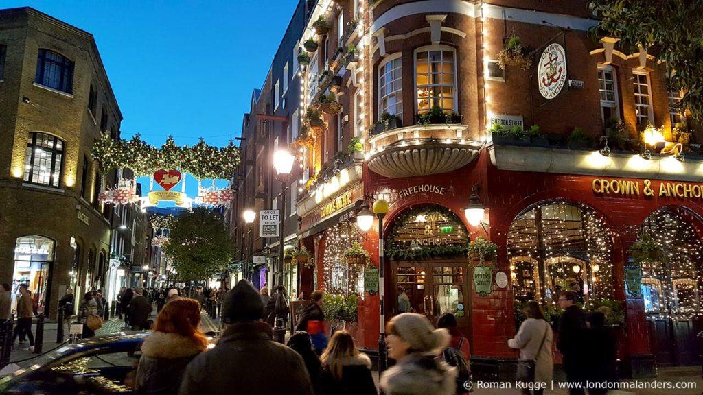 Seven Dials London Weihnachten