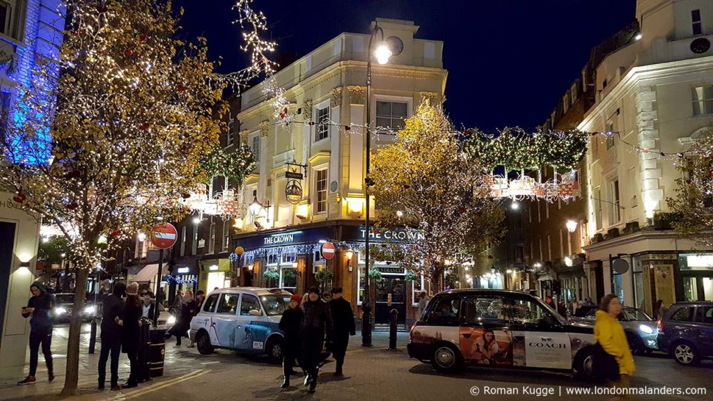 Seven Dials Weihnachten in London