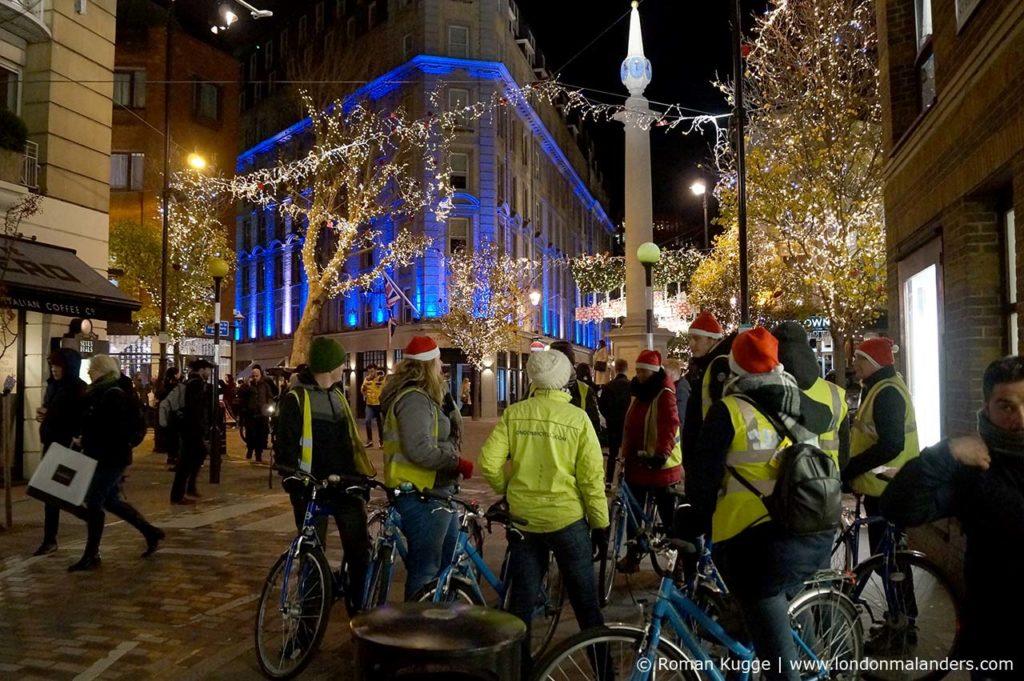 Stadtrundfahrt London Weihnachten