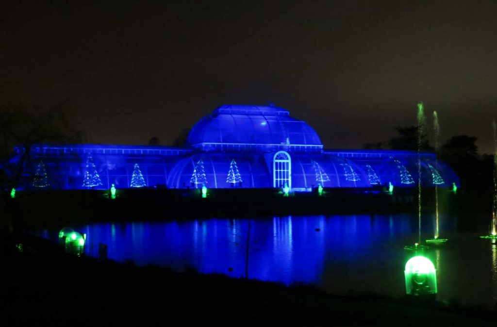 Weihnachten Kew Gardens London