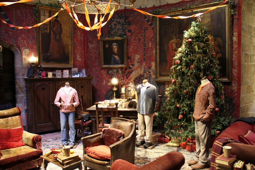 Weihnachten in den Harry Potter Studios