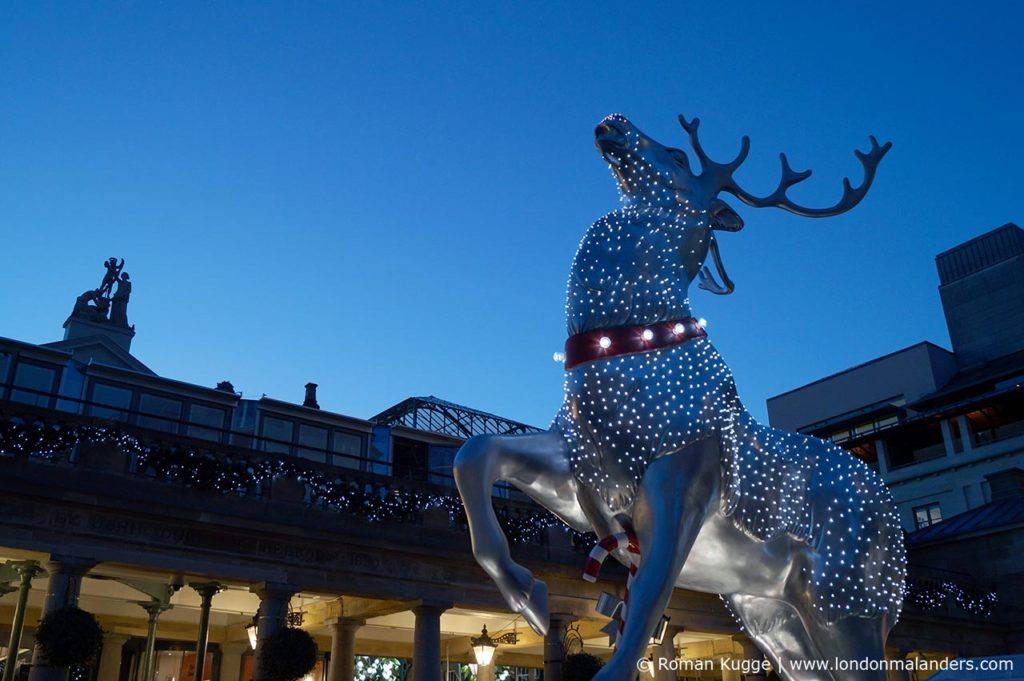 Covent Garden Weihnachten Beleuchtungen