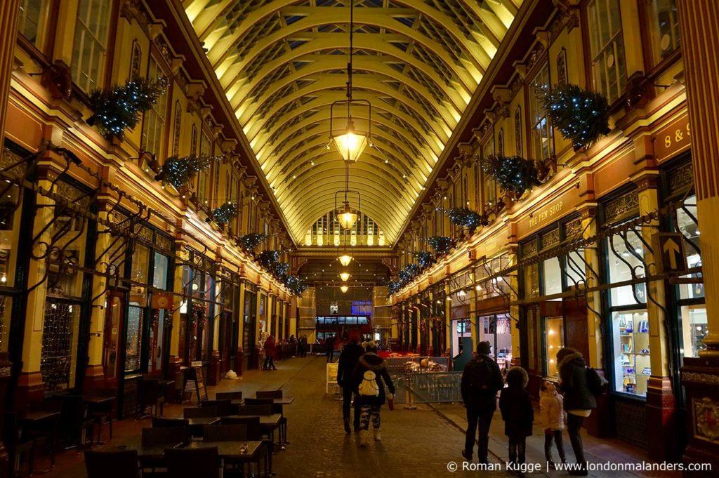 Leadenhall Market Weihnachten