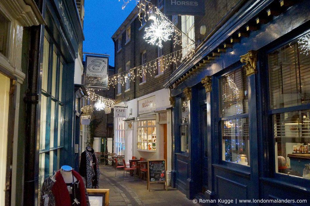 Weihnachtsbeleuchtungen London Greewnich