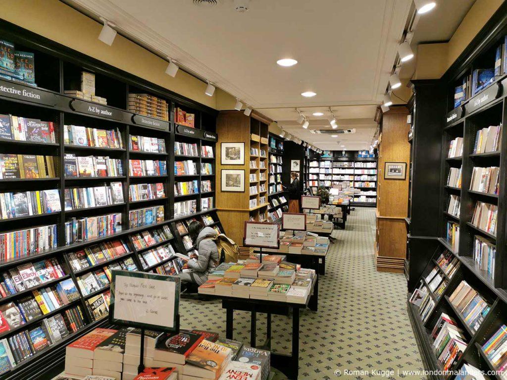 Buchhandlung Hatchards in London