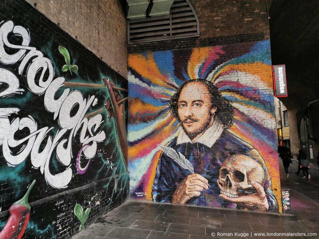 The Clink Prison Museum Gefängnismuseum London Shakespeare Graffiti