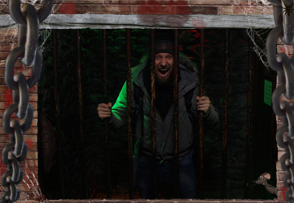 The Clink Prison Museum Gefängnismuseum London Souvenir Foto Selfie