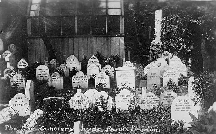 Tierfriedhof London Hyde Park
