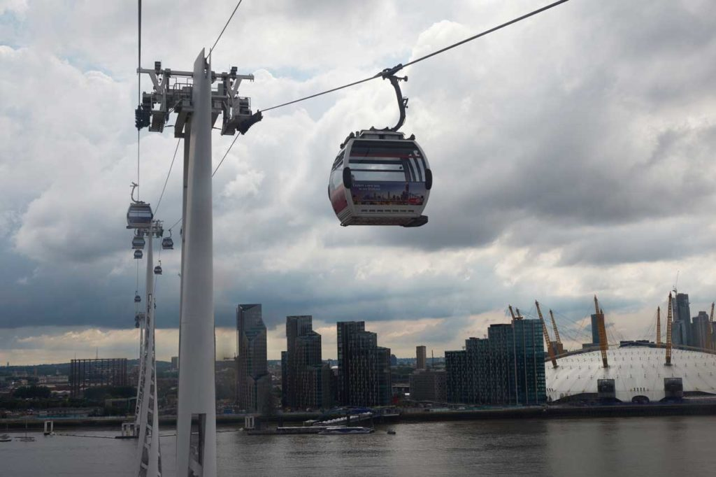Emirates Seilbahn London