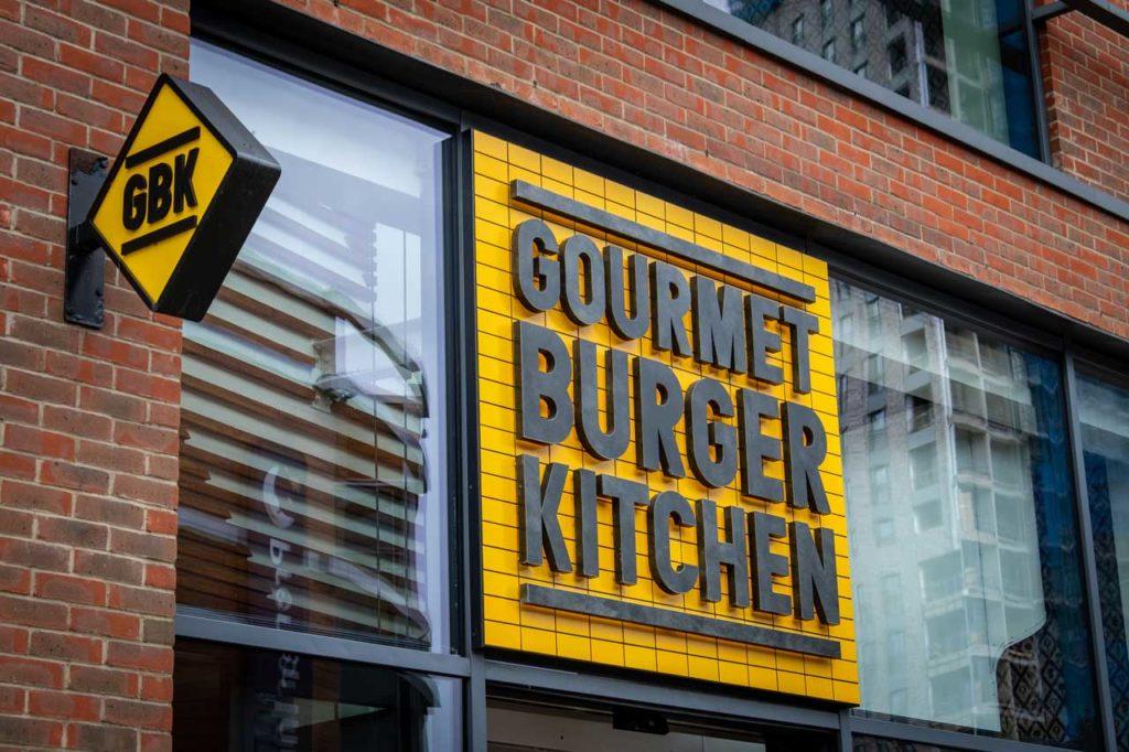 Gourmet Kitchen Burger London