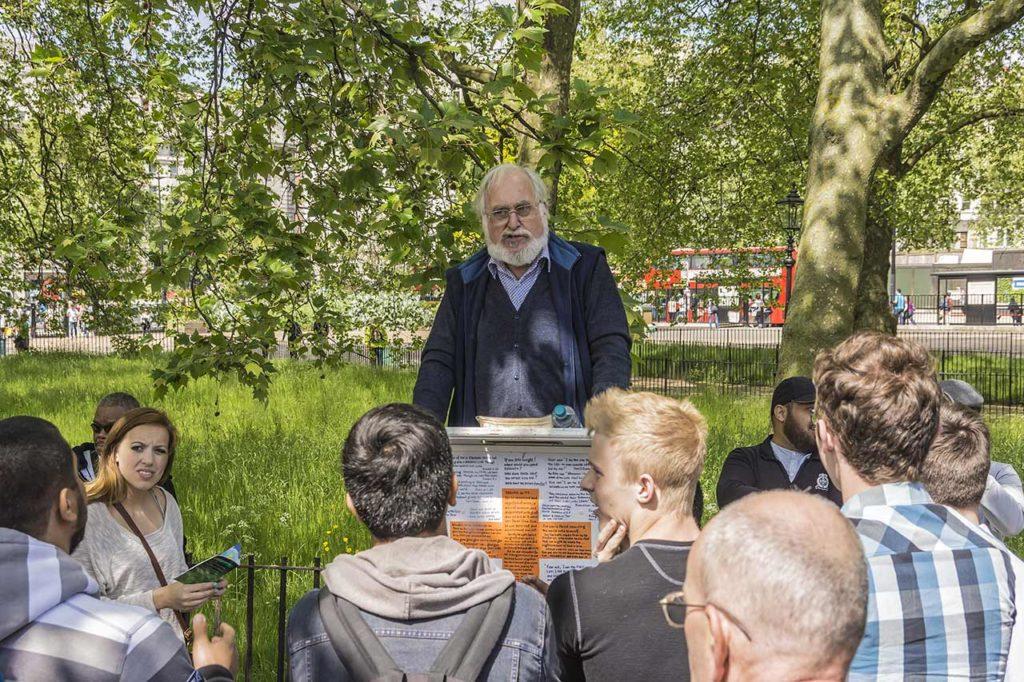 Hyde Park London Speakers Corner