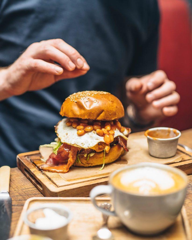 Mac and Wild Burger London