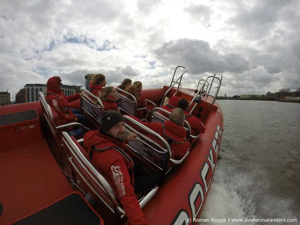 Speedboot London Schnellboot Themse